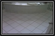 Summer Bathroom Restoration And Tile Grout Repair
